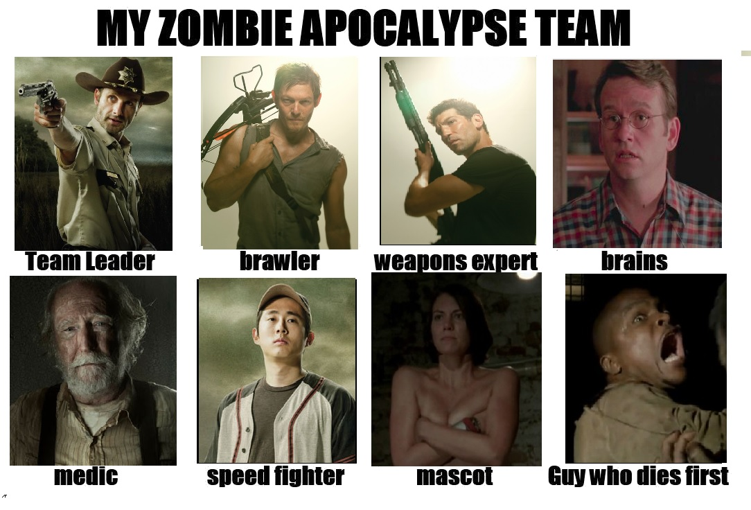 d5d walking dead survival apocalypse team my zombie apocalypse team
