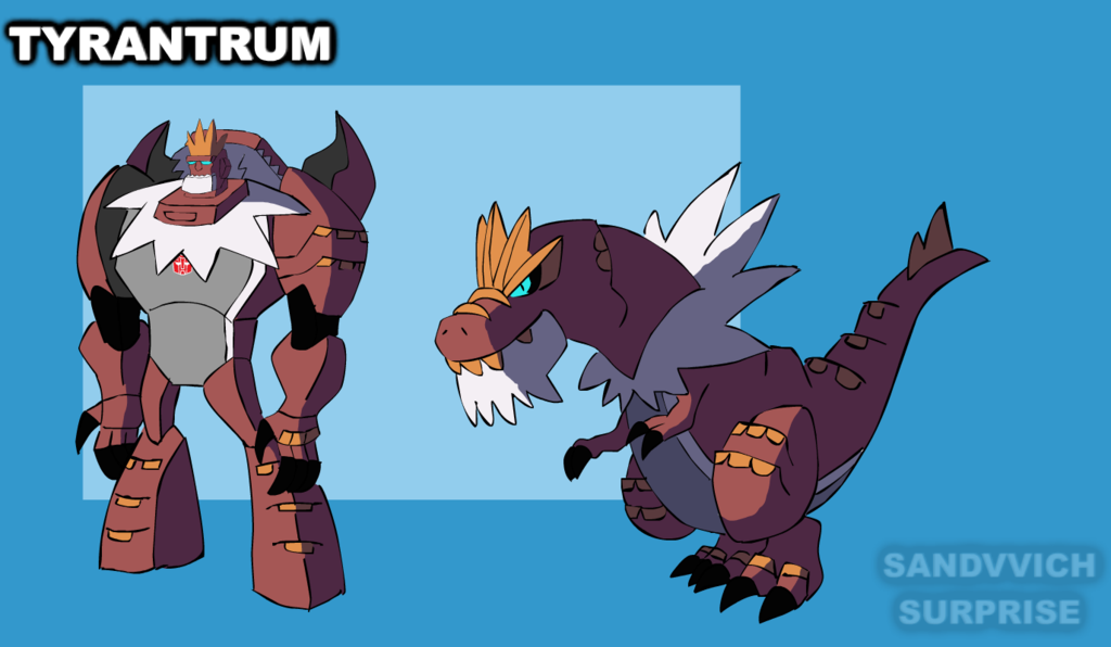 tyrantrum versus spritzee by - photo #14