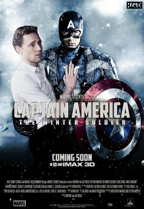 Image result for captain america tom hiddleston meme
