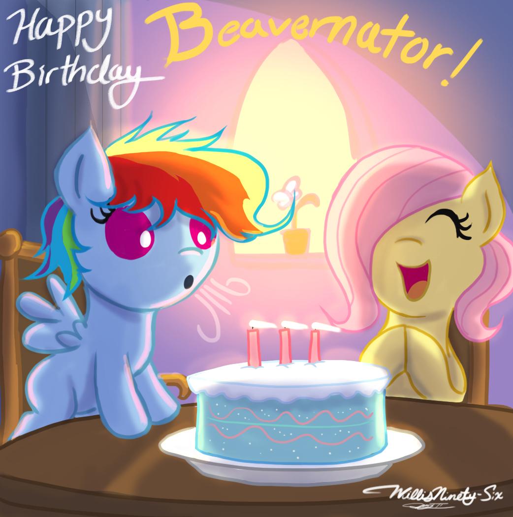 Happy Birthday Beavernator My Little Pony Friendship is Magic