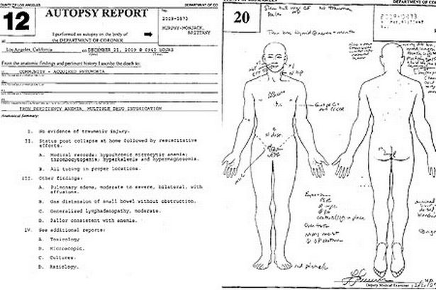 Brittany Murphy autopsy