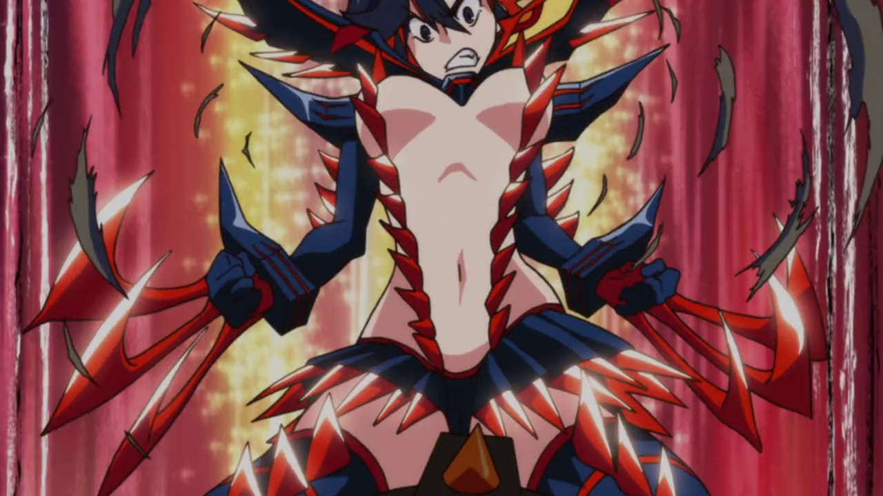 This isn't even her final form | Kill la Kill | Know Your Meme