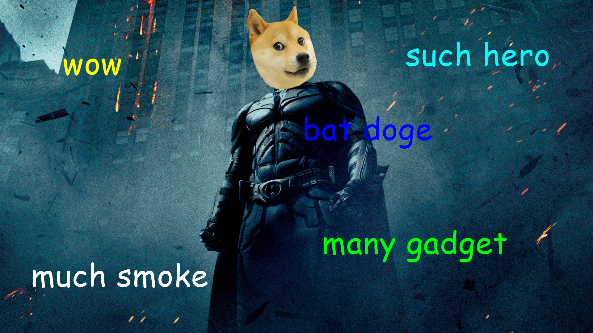 008 batdoge doge know your meme,Doge Meme Wallpaper