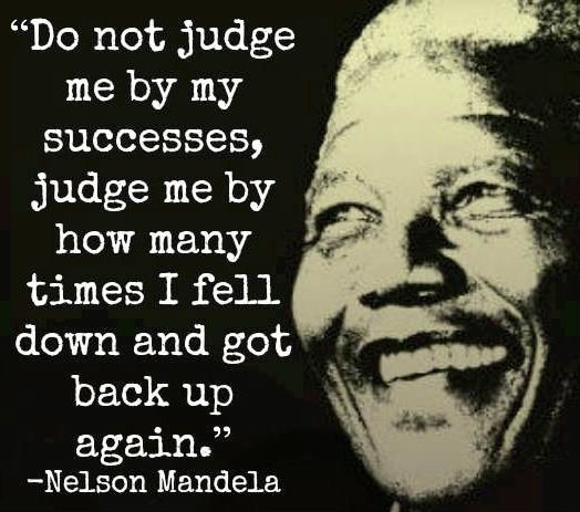 Quotes Nelson Mandela Prepossessing Nelson Mandela On Failure  Nelson Mandela's Death  Know Your Meme