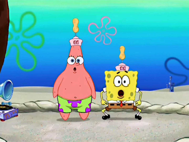 spongebob and patrick swap face swap know your meme