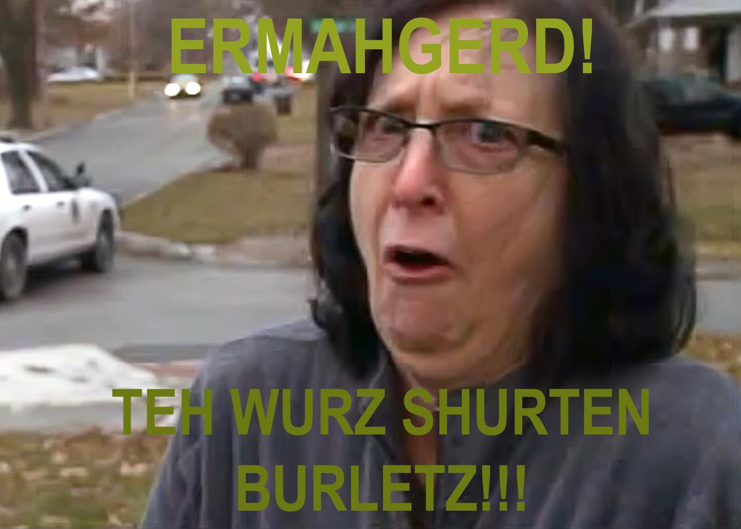 76f ermahgerd shurten burletz ermahgerd know your meme
