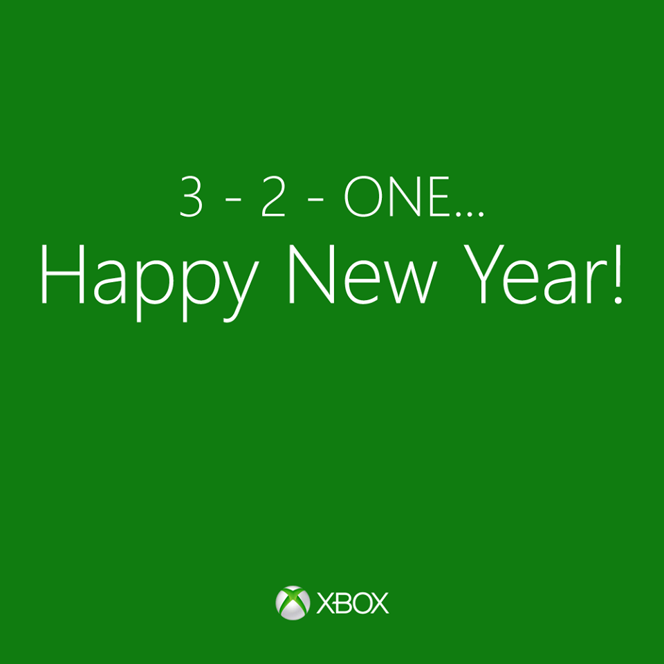 happy new year xbox