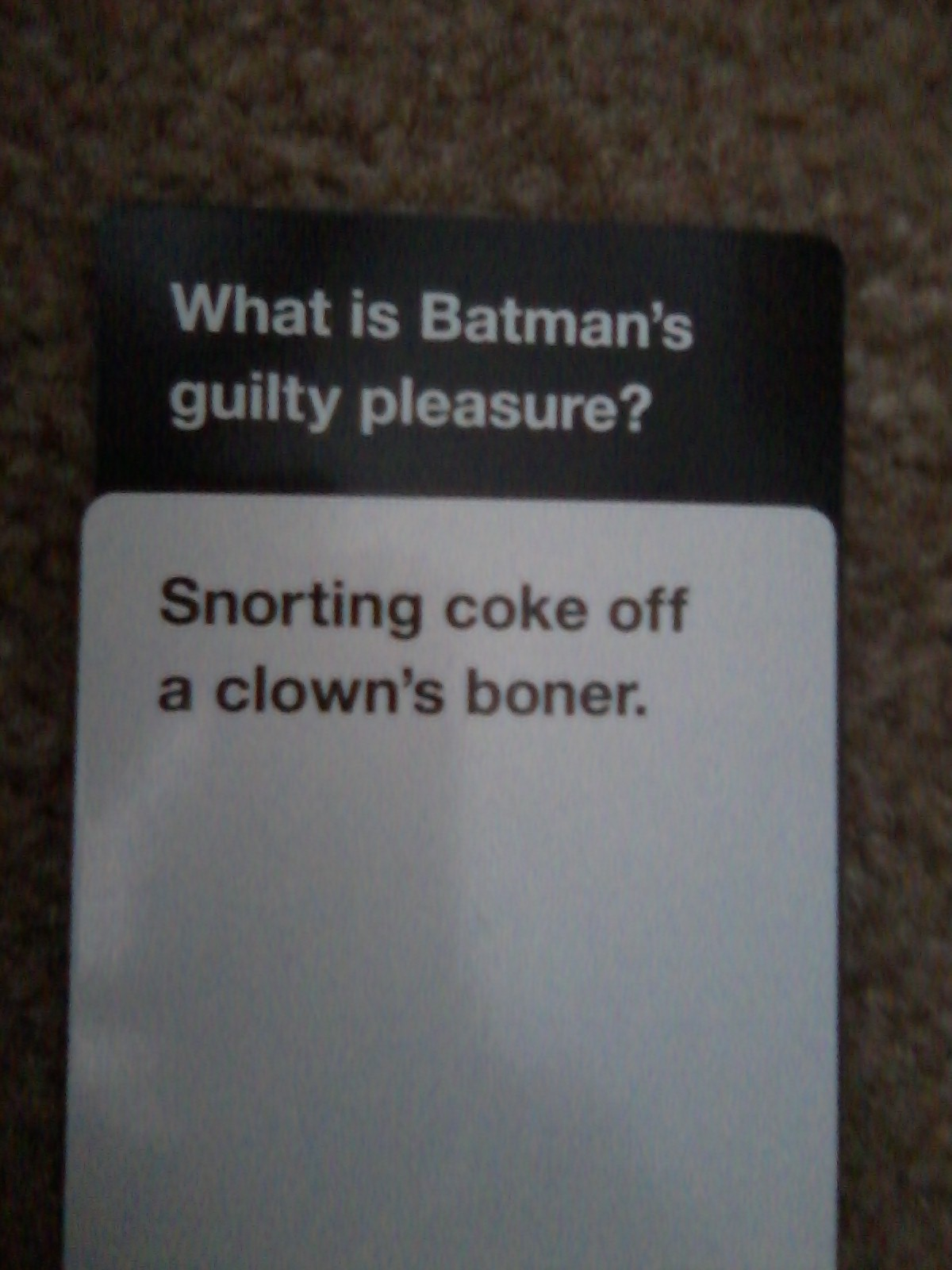 bdd image 678806] cards against humanity know your meme