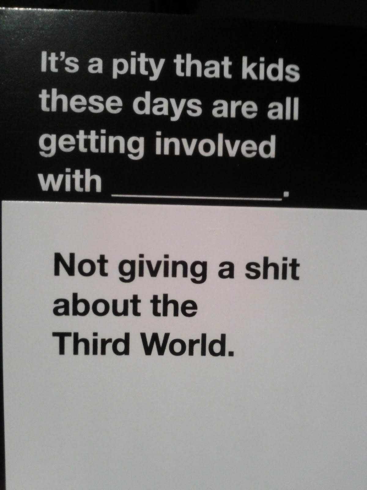 7fb image 679289] cards against humanity know your meme