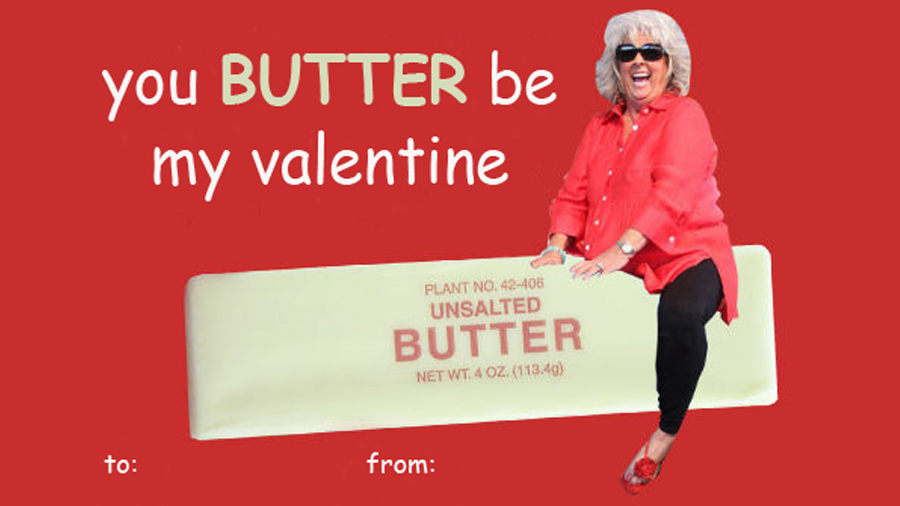 you butter be my valentine plant no 42 406 unsalted butter net wt - E Valentines Cards