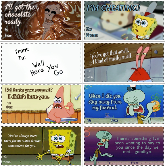 69ajpg - Spongebob Valentine Cards
