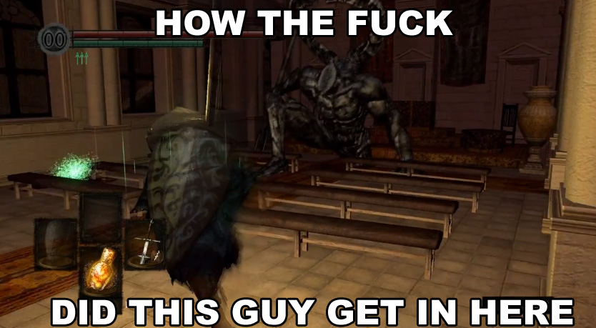 Funny Zoo Memes : Hint: it's the anor londo petting zoo dark souls know your meme
