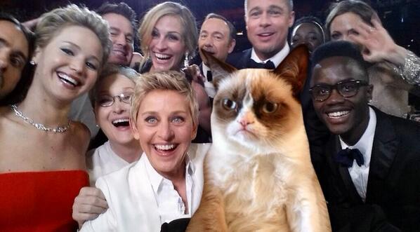 ellen degeneres selfie