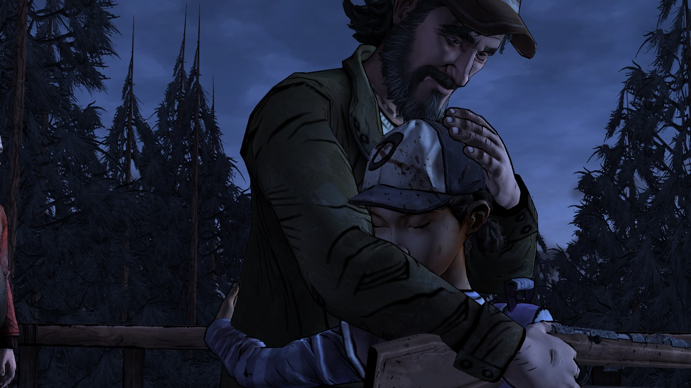 8chan Wallpaper: Clementine's Reunion With Kenny