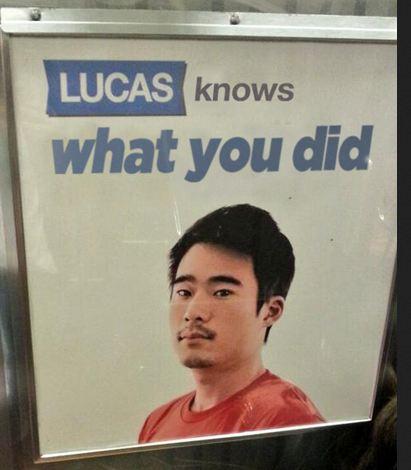b2b lucas knows know your meme
