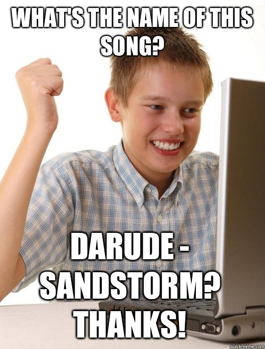 957 image 719797] darude sandstorm know your meme