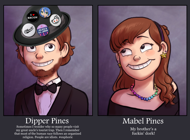983 dips fedora* m'sister! gravity falls know your meme