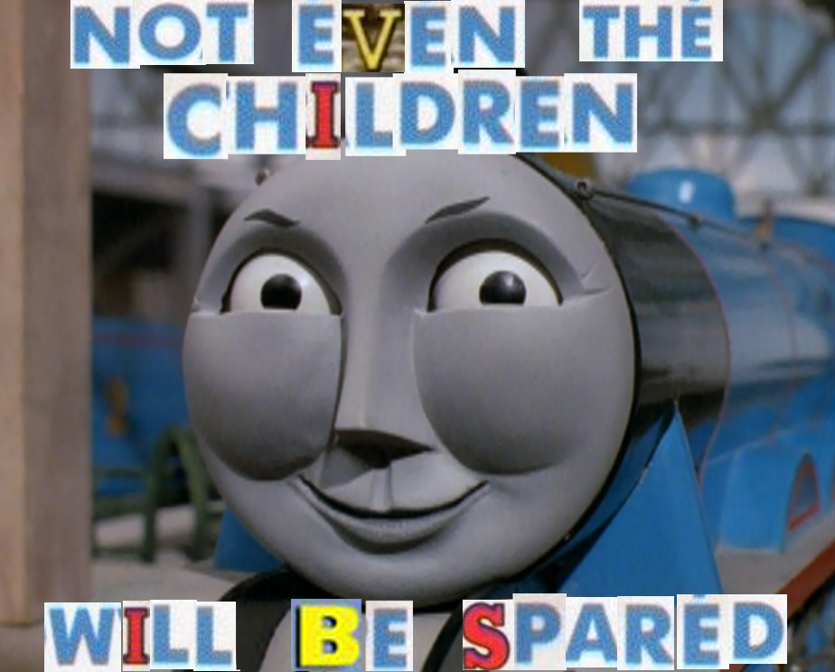 a18 all aboard gordon the rape train! expand dong know your meme
