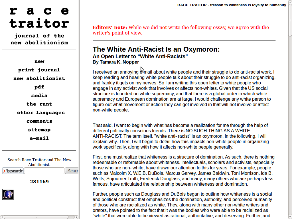 essays on whiteness Essays writer about company legal site map contact us advertise ©2018 studymodecom home essays whiteness whiteness.