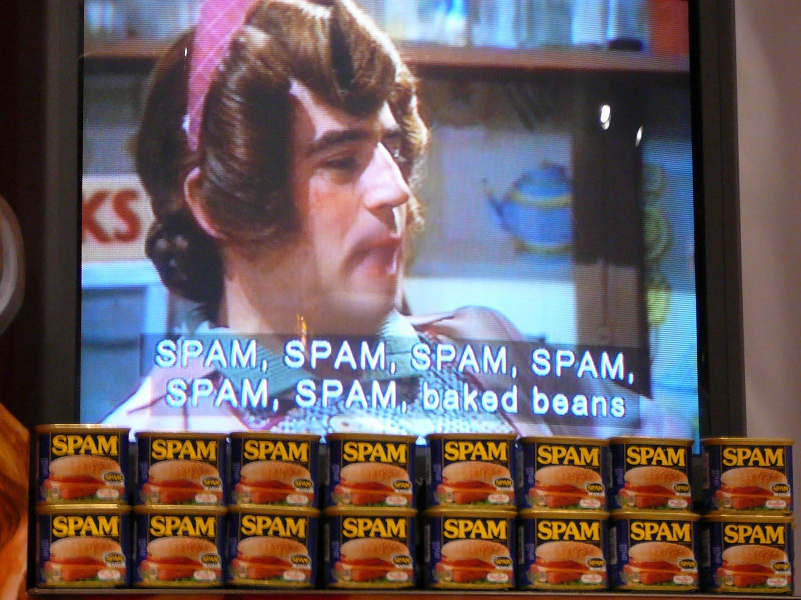Image result for spam monty python