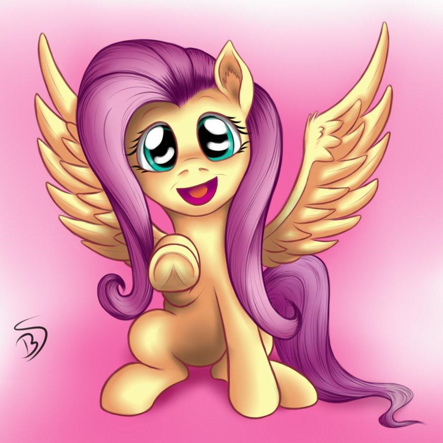 My little pony fluttershy cute - photo#16