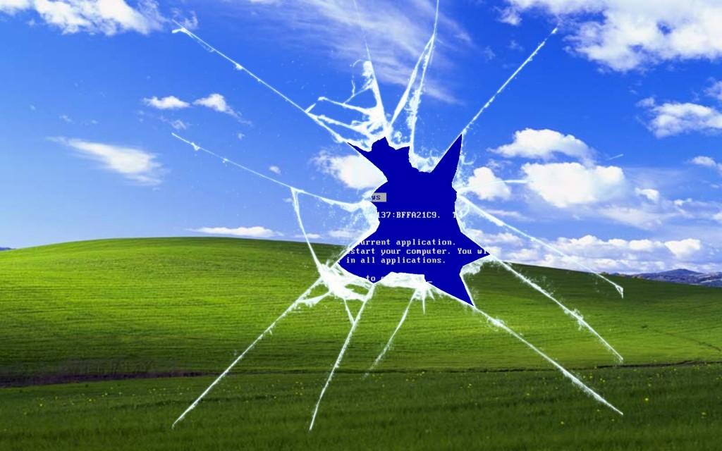 windows xp wallpaper meme