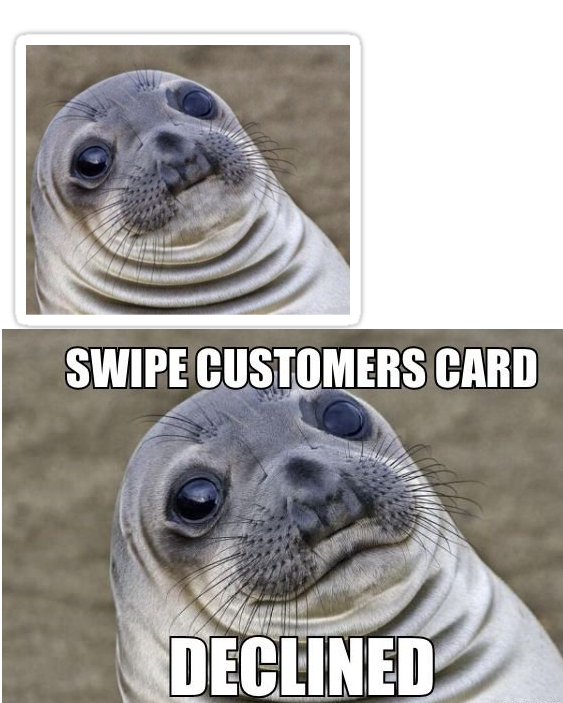 323 there are 2 versions of this meme look at its mouth awkward,Seal Meme