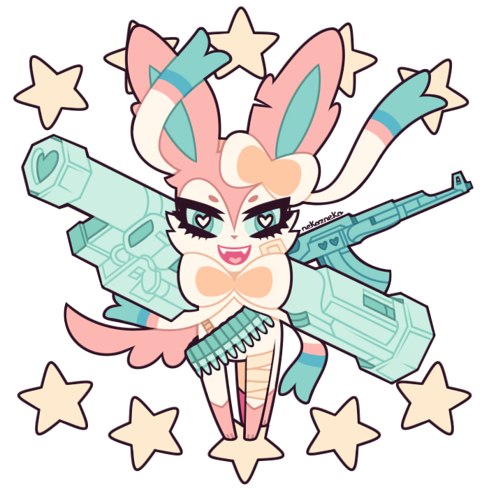 sylveon and eevee by foxlett on deviantart sylveon dragon type