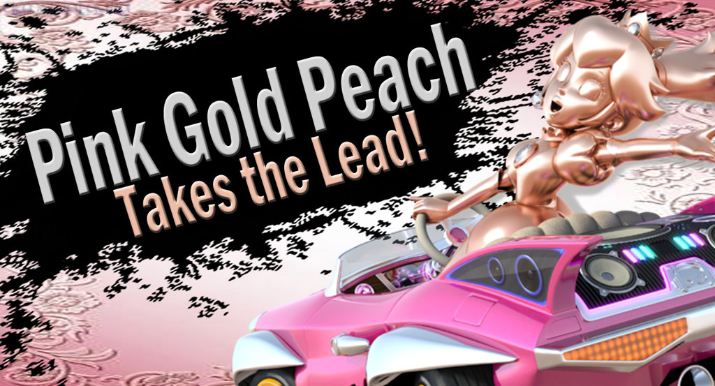 320 pink gold peach takes the lead! super smash bros 4 character