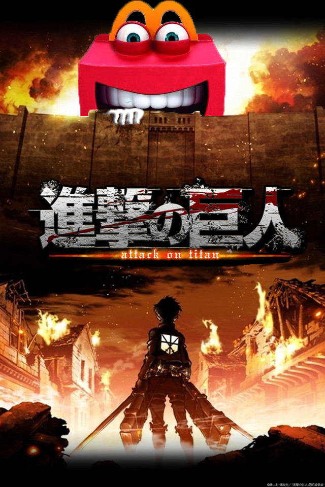 Shingeki No Happy Meal Attack On Titan Kyojin