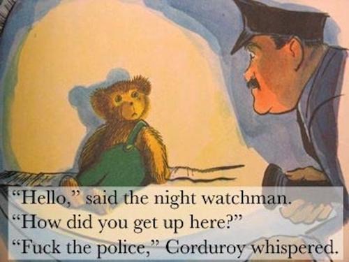police said fuck the