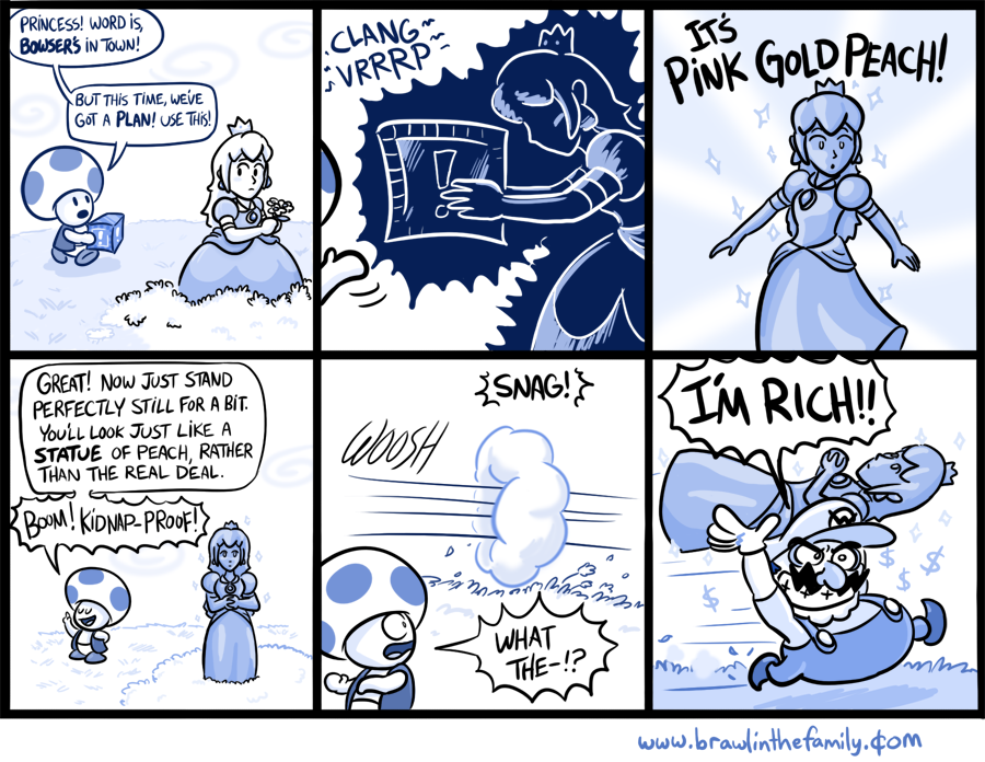 fdf pink gold peach video game logic know your meme