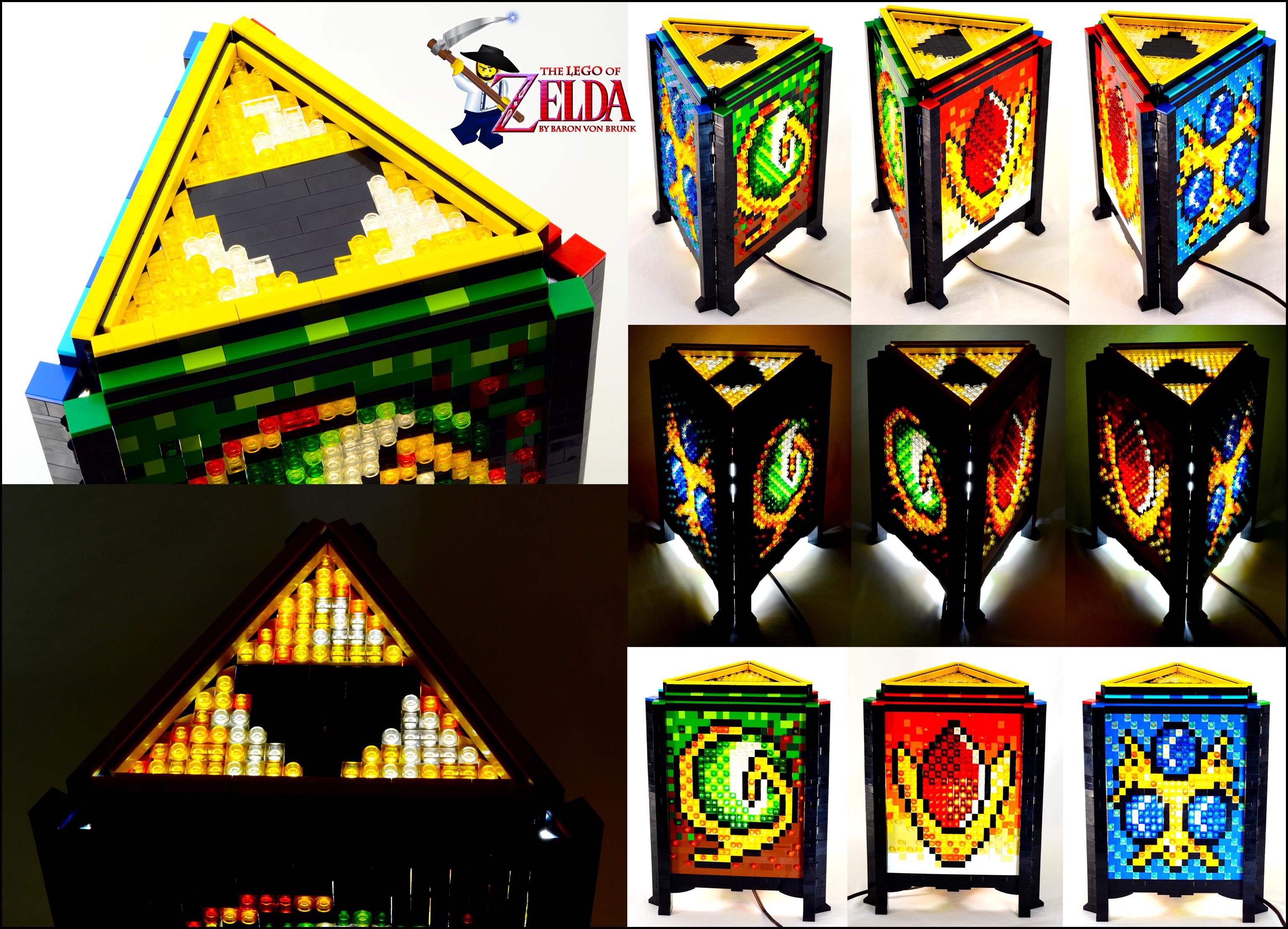 High Quality THE LEGO OF ELDA BY BARON VON BRUNK
