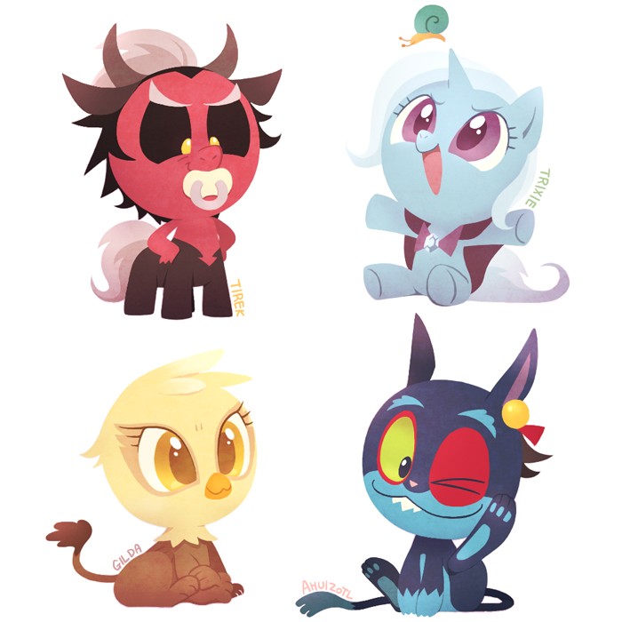 Baby Villains 2  My Little Pony Friendship is Magic  Know Your Meme