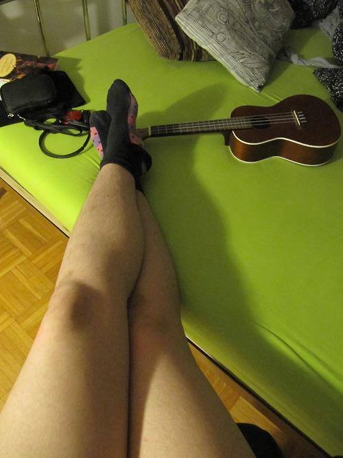 Hairy Women Legs