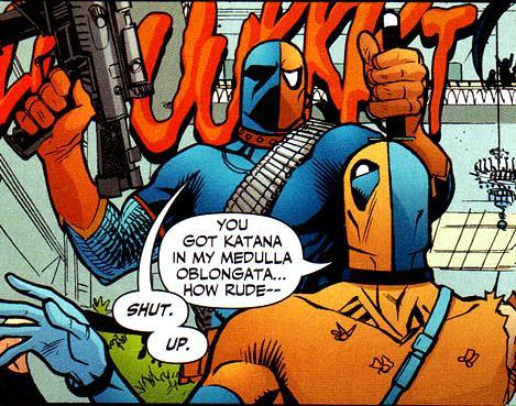 Image result for deadpool and deathstroke