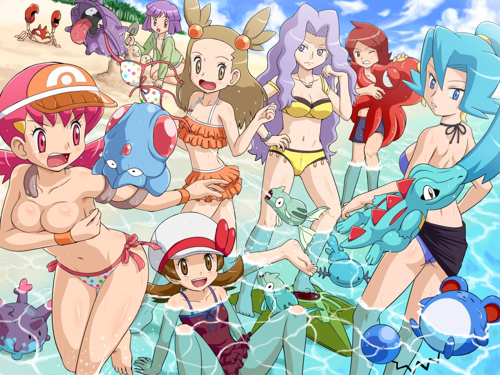 Hot bikini swimmer nude pokemon join