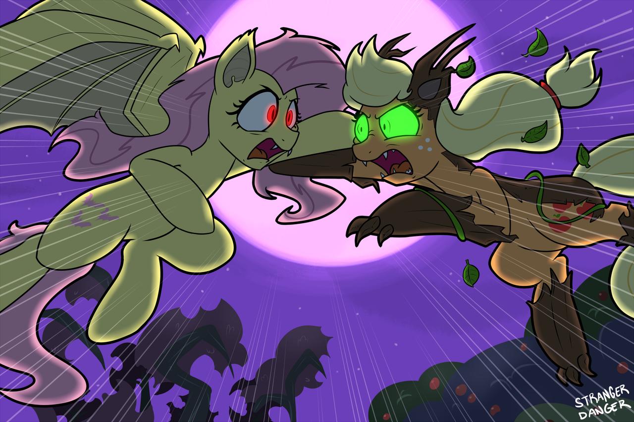 flutterbat vs  timberjack