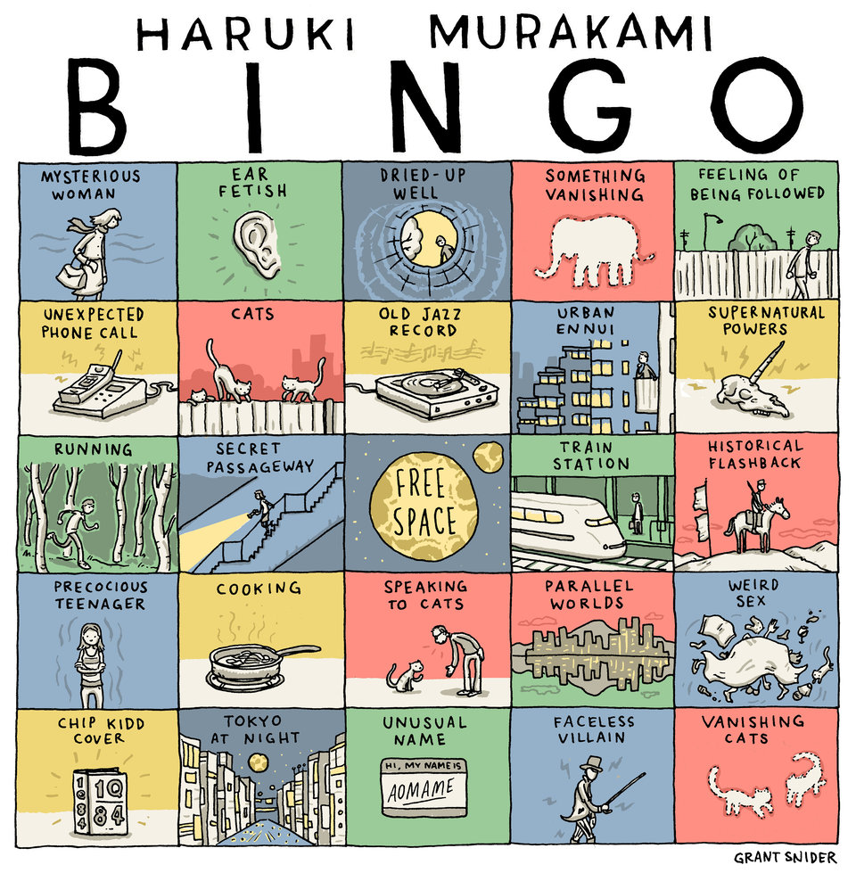 murakami bingo custom bingo cards know your meme