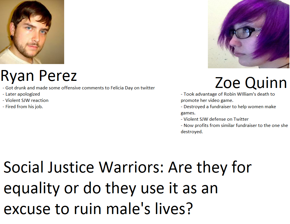 a91 more sjw double standards quinnspiracy know your meme