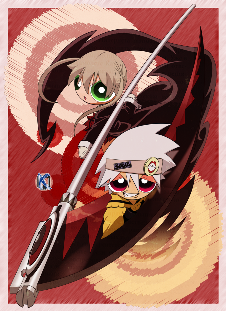 Maka Albarn Red Anime Cartoon