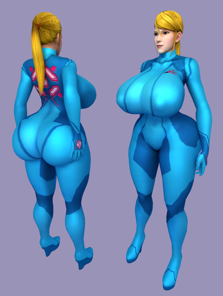 Zero Suit Samus Naked Picture Showing Boob 61