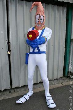 Spiral Photog Costume Mascot