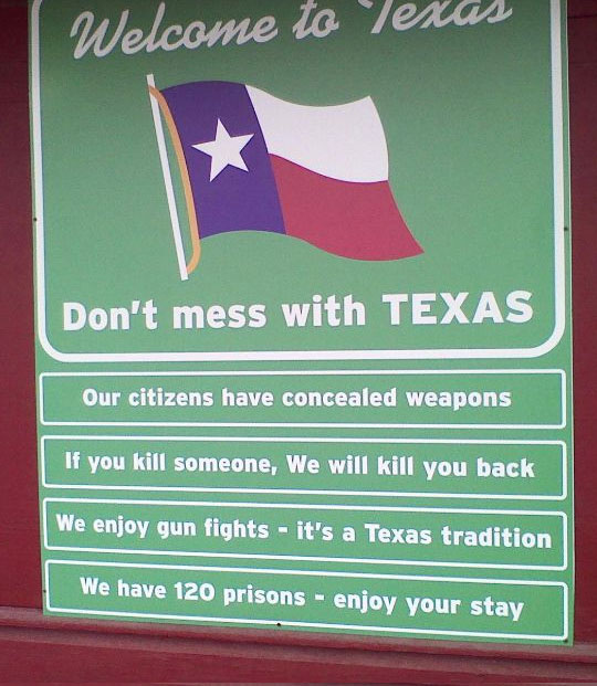 Don't Mess With Texas   'Murica   Know Your Meme