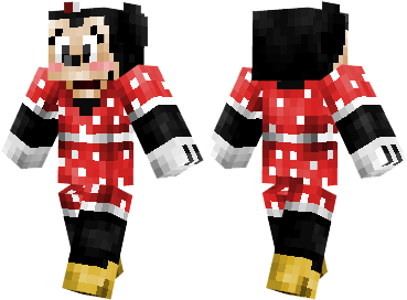 minecraft pocket edition minnie mouse mickey mouse pluto donald duck robot