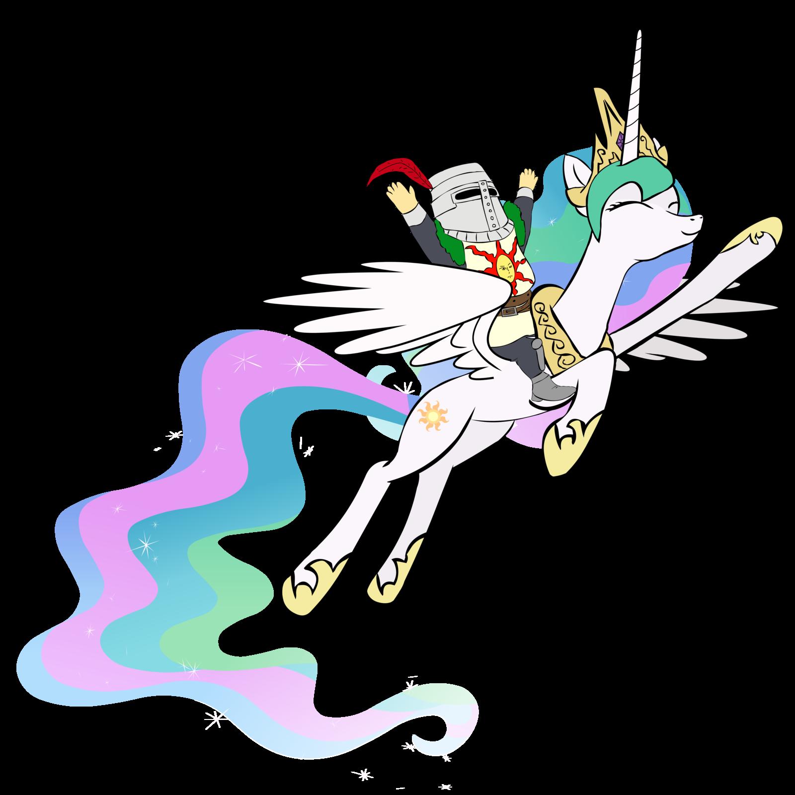 Celestia Mlp Flying