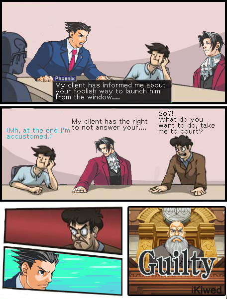 3d5 phoenix wright vs the director boardroom suggestion know your meme,Phoenix Wright Memes