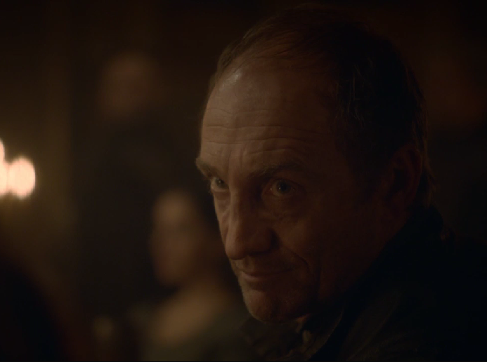 The Roose Bolton Smile of Evil Reveal