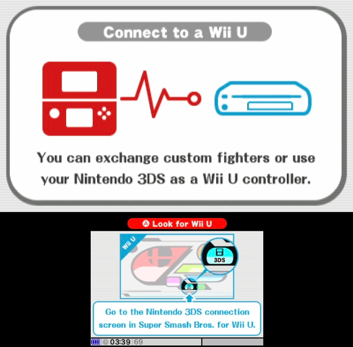 ecd super smash bros wii u will let you use your 3ds as a controller