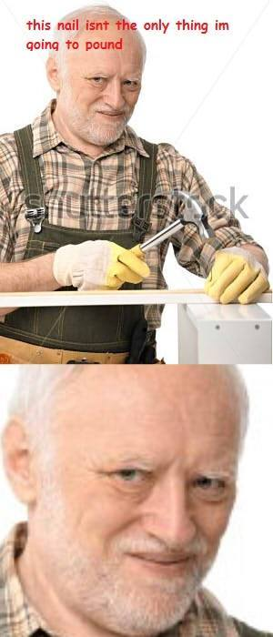 Funny Stock Photos Know Your Meme : Harold the carpenter hide pain know your meme